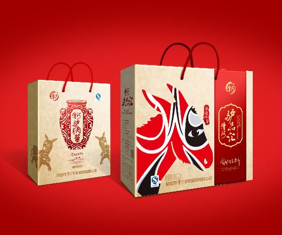漕河驴肉礼盒包装设计