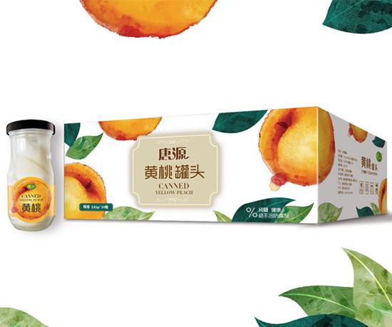 唐源罐头包装设计