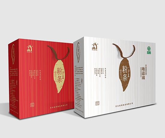 地道战品牌系列包装设计