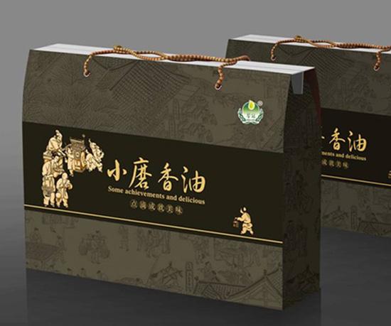 香油礼盒&瓶贴设计