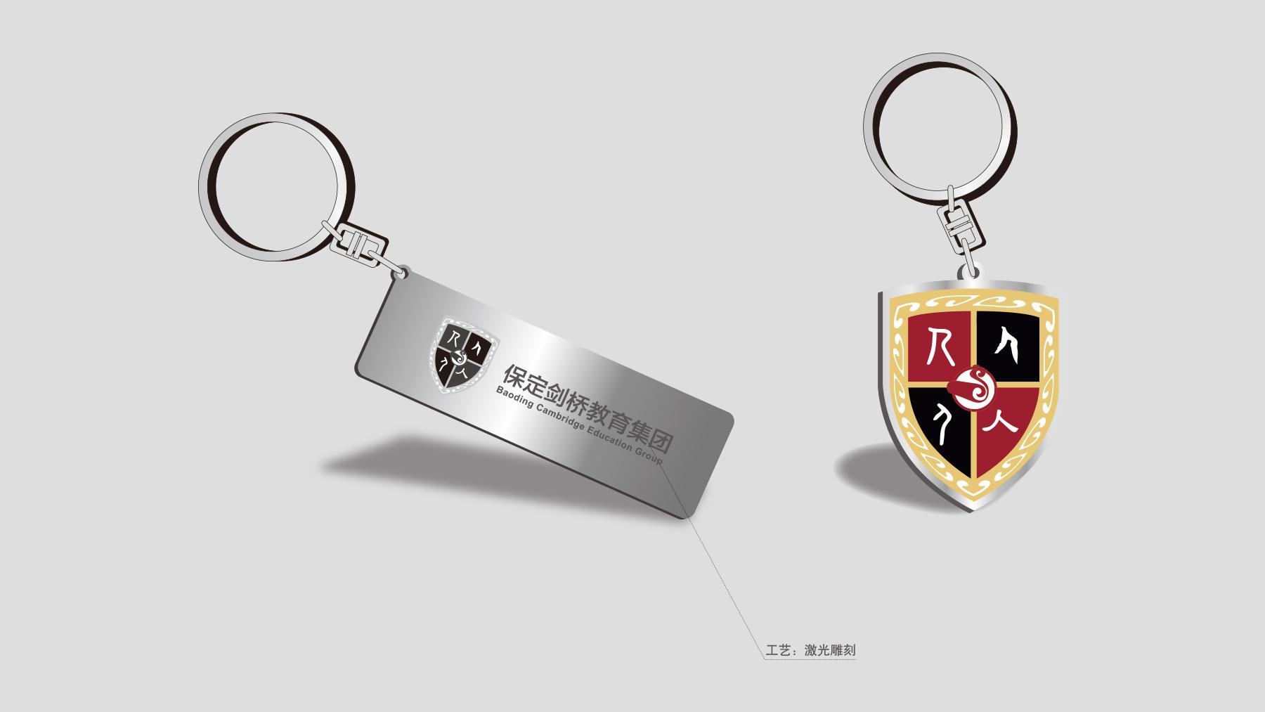 剑桥教育集团品牌形象升级_剑桥教育集团logo设计_vi图片
