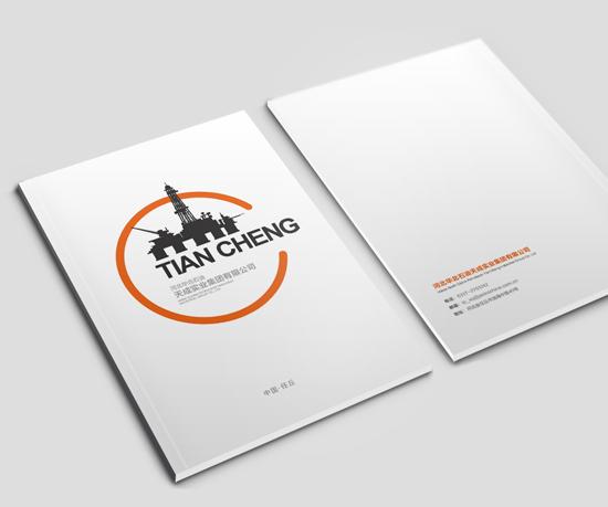 天成集团画册设计
