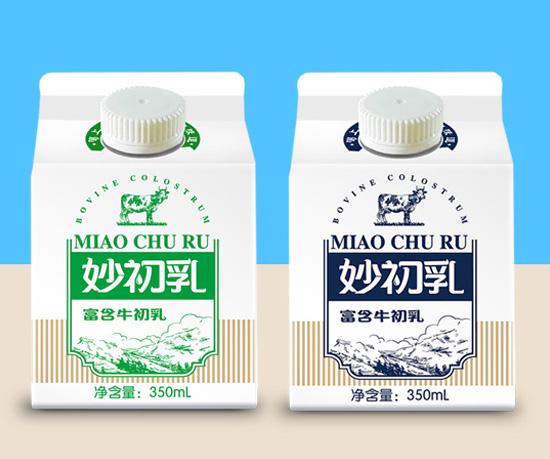 妙士牛初乳新品包装设计
