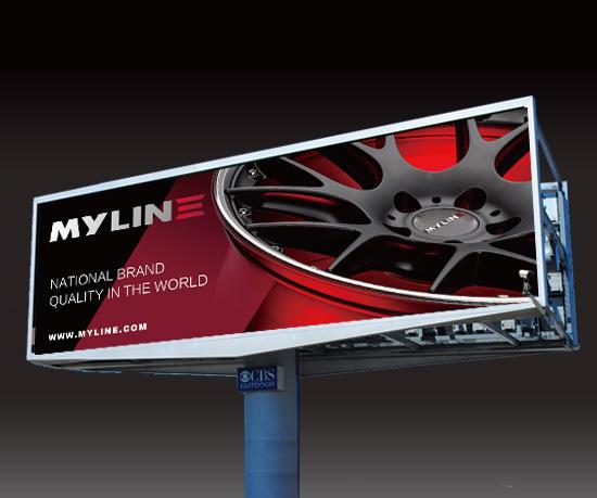 镁轮轮毂品牌全案策划与设计
