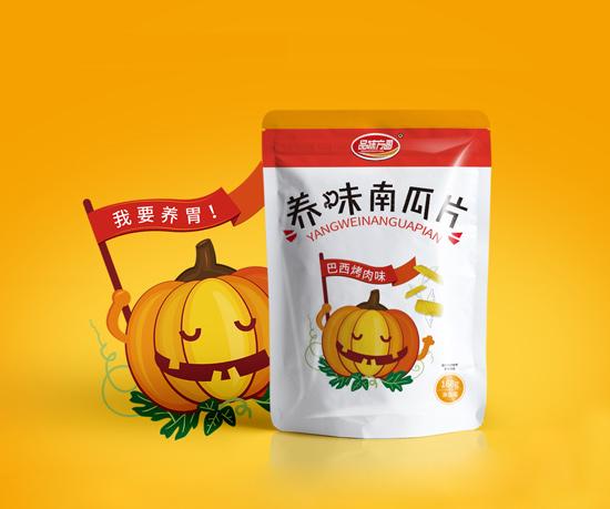 养味南瓜片系列包装设计